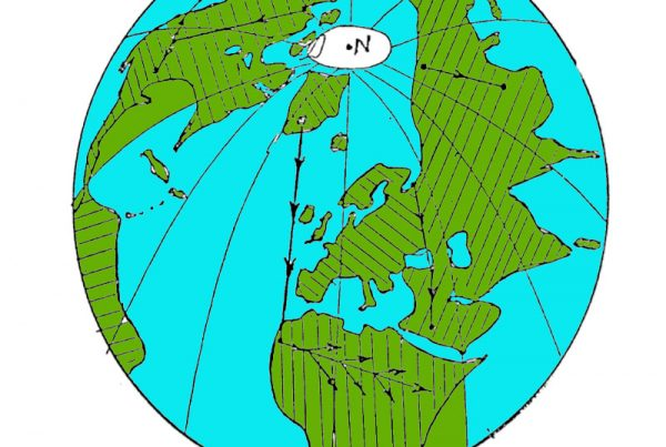 waterverplaatsing over de aarde