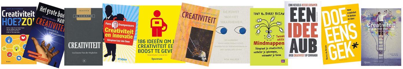 boeken over creativiteit